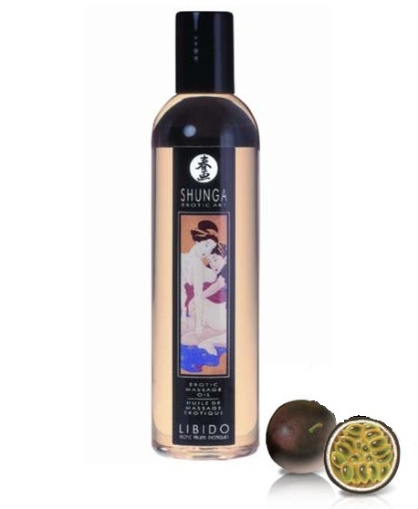 HUILE DE MASSAGE LIBIDO Exotic Fruits